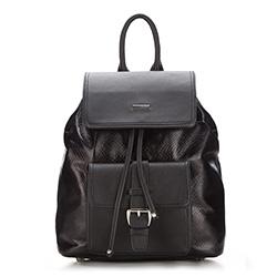 Plecak damski, czarny, 87-4Y-773-1, Zdjęcie 1