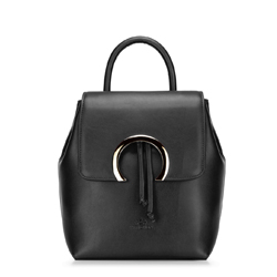 Plecak damski, czarny, 88-4E-303-1, Zdjęcie 1
