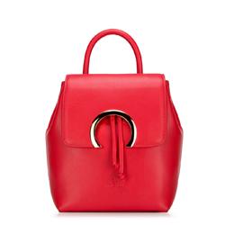 Plecak damski, czerwony, 88-4E-303-3, Zdjęcie 1