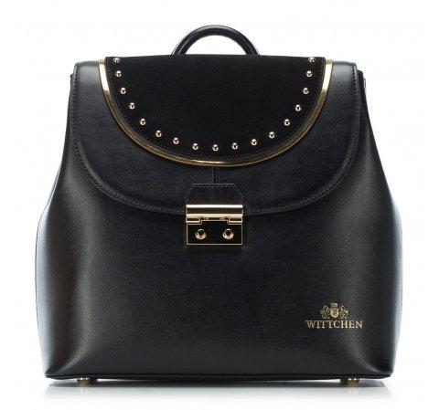 Plecak damski, czarny, 88-4E-370-1, Zdjęcie 1