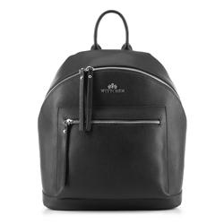 Plecak damski, czarny, 88-4E-410-1, Zdjęcie 1