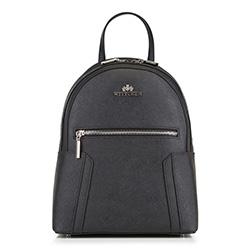 Plecak damski, czarny, 88-4E-412-1, Zdjęcie 1