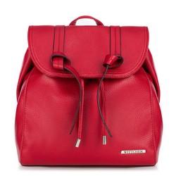 Plecak damski, czerwony, 88-4Y-411-3, Zdjęcie 1