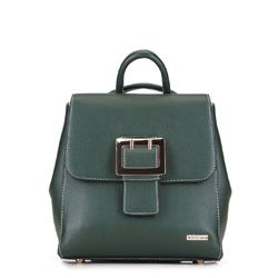 Plecak damski, zielony, 88-4Y-512-Z, Zdjęcie 1