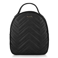 Plecak damski, czarny, 88-4Y-602-1, Zdjęcie 1