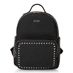 Plecak damski, czarny, 88-4Y-608-1, Zdjęcie 1