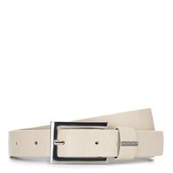 Women's belt, ecru, 88-8D-305-0-2X, Photo 1