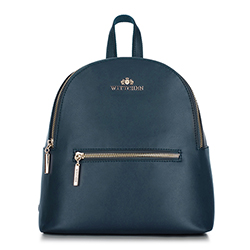 Backpack, navy blue, 89-4-617-7, Photo 1