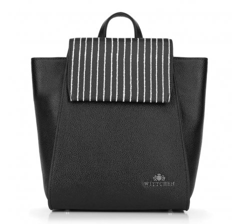 Plecak damski, czarny, 89-4E-210-1, Zdjęcie 1