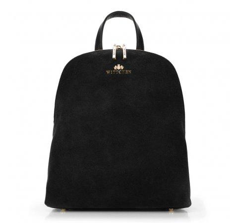 Plecak damski, czarny, 89-4E-352-Z, Zdjęcie 1