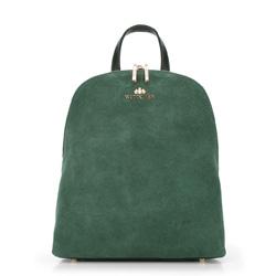 Plecak damski, zielony, 89-4E-352-Z, Zdjęcie 1
