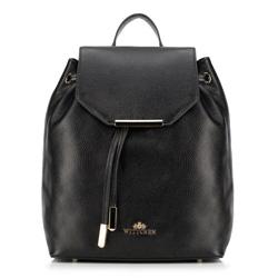 Plecak damski, czarny, 89-4E-365-1, Zdjęcie 1