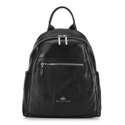 Plecak damski, czarny, 89-4E-367-1, Zdjęcie 1