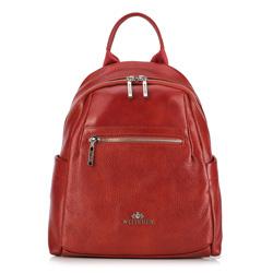 Plecak damski, czerwony, 89-4E-367-5, Zdjęcie 1