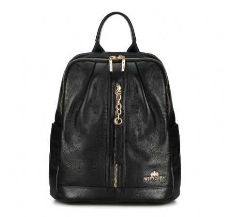 Plecak damski, czarny, 89-4E-368-1, Zdjęcie 1