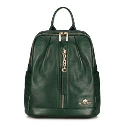 Plecak damski, zielony, 89-4E-368-Z, Zdjęcie 1