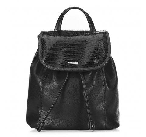 Plecak damski, czarny, 89-4Y-562-1, Zdjęcie 1