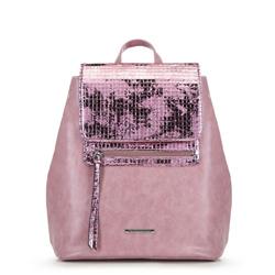 Plecak damski, różowy, 90-4Y-403-P, Zdjęcie 1