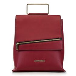 Plecak damski, czerwony, 90-4Y-409-3, Zdjęcie 1