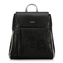 Plecak damski, czarny, 90-4Y-602-1, Zdjęcie 1