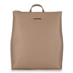 Plecak damski, beżowy, 90-4Y-700-9, Zdjęcie 1