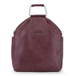 Plecak damski, bordowy, 90-4Y-712-2, Zdjęcie 1