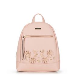 Plecak damski, różowy, 90-4Y-713-P, Zdjęcie 1