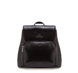 Plecak damski, czarny, 35-4-054-1, Zdjęcie 1