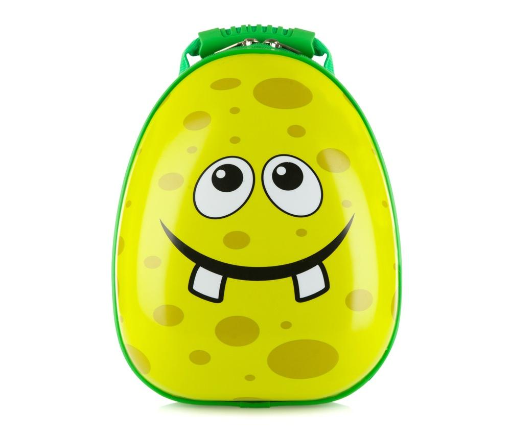 Рюкзак детскийРюкзак детский<br><br>секс: None<br>Цвет: зеленый<br>материал:: Поликарбонат<br>высота (см):: 35<br>ширина (см):: 25<br>глубина (см):: 10<br>объем (л):: 5<br>вес (кг):: 0,5
