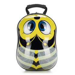 Kid's backpack, black-yellow, 56-3K-005-B, Photo 1