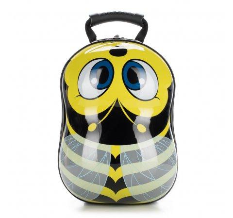 Plecak dla dzieci, czarno - żółty, 56-3K-005-B, Zdjęcie 1