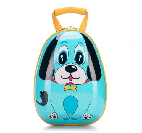 Plecak dla dzieci, niebiesko - żółty, 56-3K-005-D, Zdjęcie 1