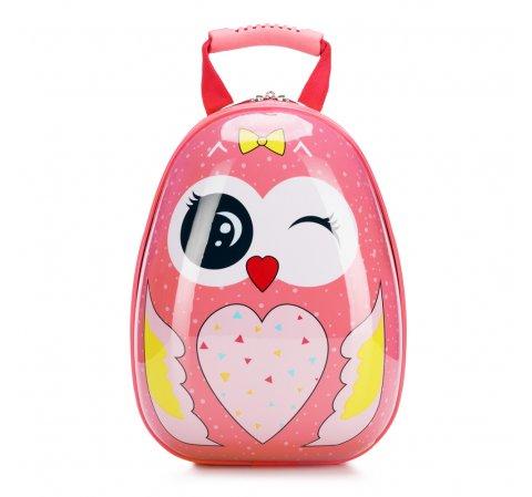 Plecak dla dzieci, różowy, 56-3K-005-O, Zdjęcie 1