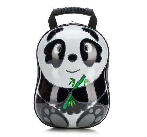 Plecak dla dzieci, czarno - biały, 56-3K-005-P, Zdjęcie 1