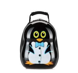 Plecak dla dzieci, czarny, 56-3K-002-P, Zdjęcie 1