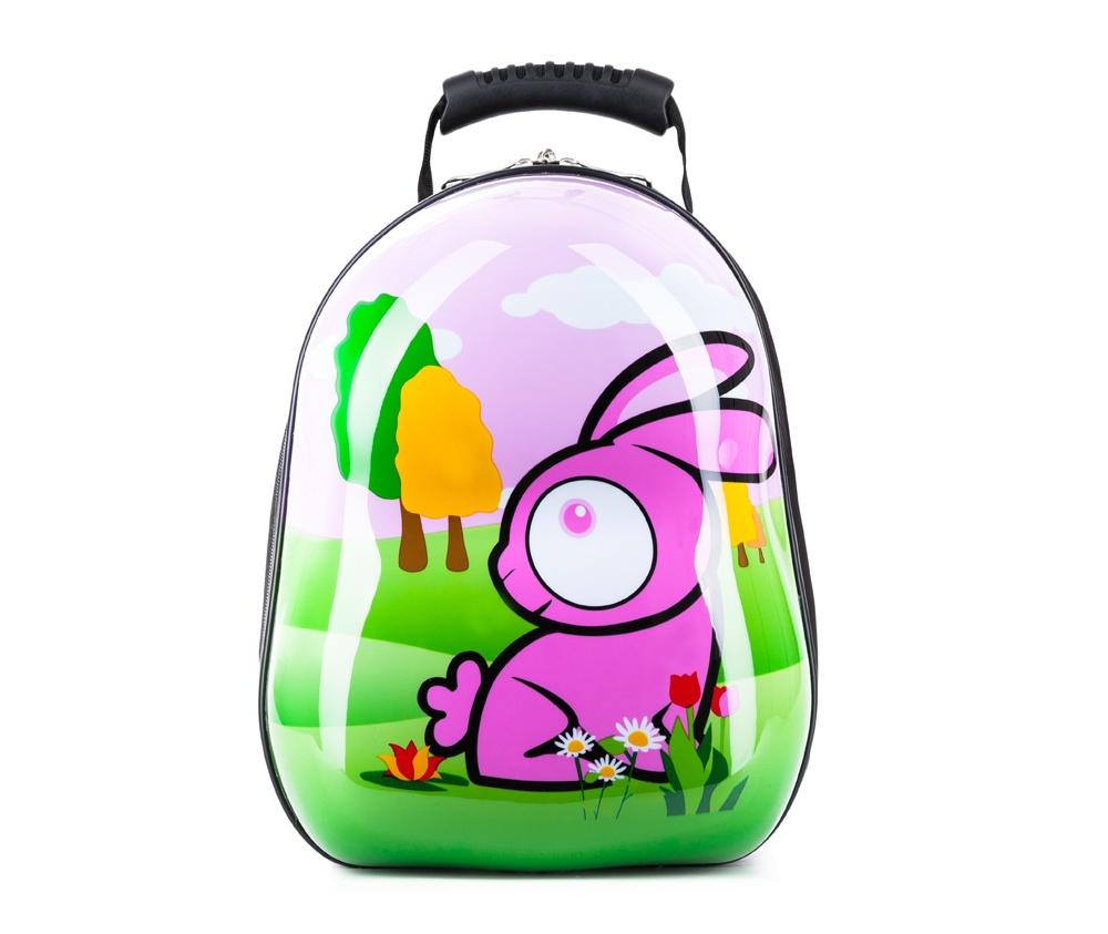Рюкзак детскийРюкзак из коллекции Travel Kids, изготовлен из очень прочного полиэстера, который используется в производстве пластиковых ABS чемоданов. Детский рисунок на передней стороне сделает рюкзак отличным дополнением для каждого ребенка. Особенности модели:  основное отделение на молнии.     Дополнительно:    удобная ручка;  лямки с регулируемой длиной.<br><br>секс: None<br>Цвет: разноцветный<br>материал:: Поликарбонат<br>высота (см):: 34<br>ширина (см):: 28<br>глубина (см):: 17<br>объем (л):: 13<br>вес (кг):: 0,6