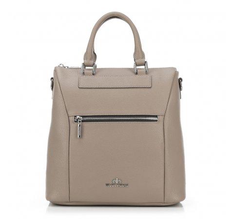 Plecak damski, beżowy, 89-4E-418-9, Zdjęcie 1