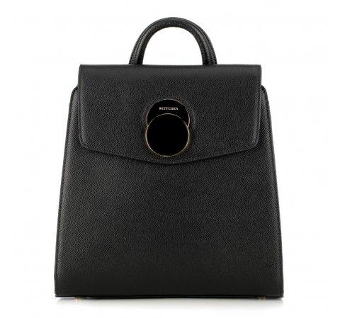 Plecak damski, czarny, 89-4E-509-1, Zdjęcie 1