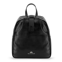 Plecak damski, czarny, 90-4E-354-1, Zdjęcie 1