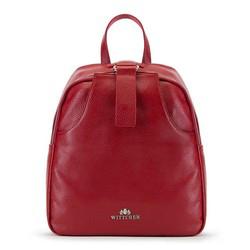 Plecak damski, czerwony, 90-4E-354-3, Zdjęcie 1