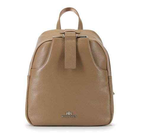 Plecak damski, beżowy, 90-4E-354-9, Zdjęcie 1