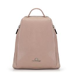 Plecak damski, beżowy, 90-4E-368-9, Zdjęcie 1