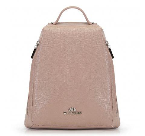 Plecak damski, beżowy, 90-4E-368-7, Zdjęcie 1