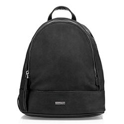 Plecak damski, czarny, 85-4Y-217-1, Zdjęcie 1