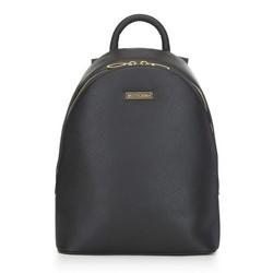 Damski plecak miejski mały, czarny, 91-4Y-717-1, Zdjęcie 1