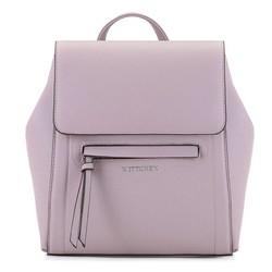Damski plecak pudełkowy, różowy, 92-4Y-555-P, Zdjęcie 1