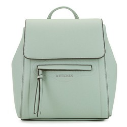 Women's structured backpack, mint, 92-4Y-555-Z, Photo 1