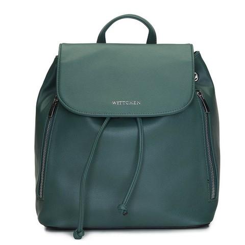 Damski plecak worek sznurowany, zielony, 92-4Y-561-1, Zdjęcie 1
