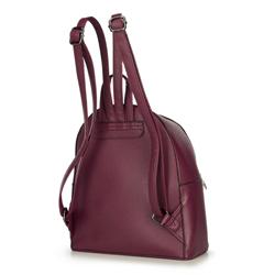 Women's backpack, burgundy, 92-4Y-203-2, Photo 1