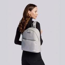 Damski plecak miejski z kolorową podszewką, jasny fiolet, 92-4Y-215-8, Zdjęcie 1